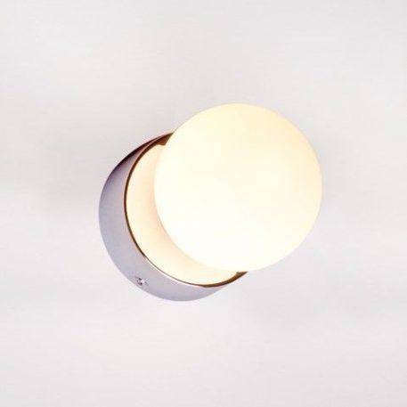 Brazos  Lampa nowoczesna – szklane – kolor biały, srebrny
