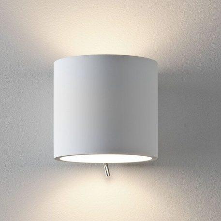 Brenta Lampa nowoczesna – Gipsowe – kolor biały