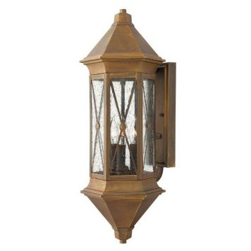 Brighton  Lampa zewnętrzna – szklane – kolor brązowy, transparentny