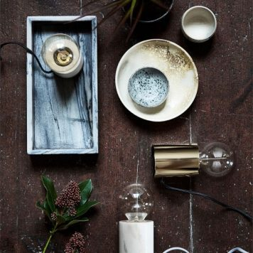 Bristol Frandsen Lampa nowoczesna – industrialny – kolor biały