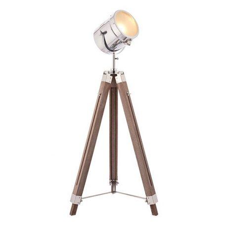 Brodway  Lampa skandynawska – Styl skandynawski – kolor brązowy, srebrny