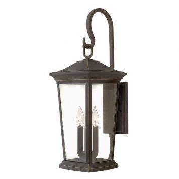 Bromley  Lampa zewnętrzna – klasyczny – kolor brązowy, transparentny