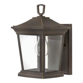 Bromley  Lampa zewnętrzna – szklane – kolor brązowy, transparentny