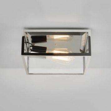 Bronte Lampa sufitowa – szklane – kolor srebrny, transparentny