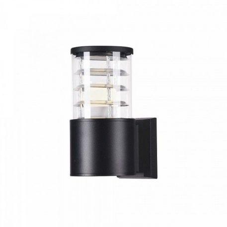 Bronx  Lampa zewnętrzna – szklane – kolor transparentny, Czarny