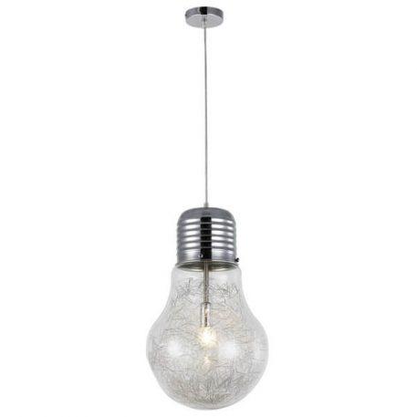 Bulb Lampa wisząca – Styl nowoczesny – kolor srebrny, transparentny