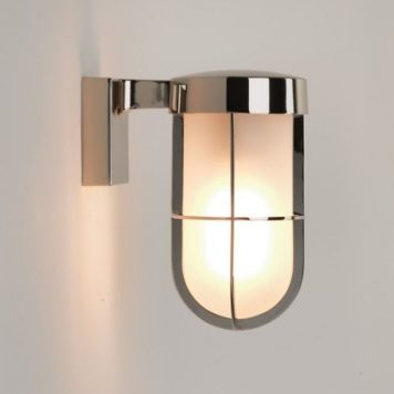 Cabin Lampa zewnętrzna – szklane – kolor srebrny