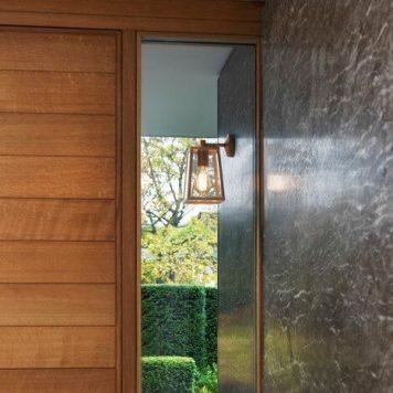 Calvi Lampa industrialna – szklane – kolor transparentny, złoty