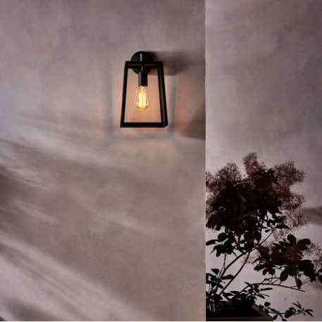 Calvi  Lampa zewnętrzna – klasyczny – kolor transparentny, Czarny
