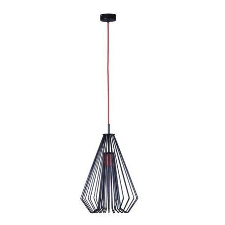 Calvin Lampa wisząca – industrialny – kolor Czarny