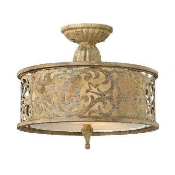 Carabel Lampa sufitowa – Plafony – kolor beżowy