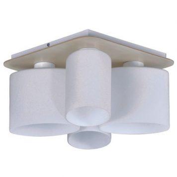 Carson  Lampa sufitowa – szklane – kolor biały