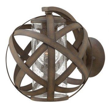 Carson  Lampa zewnętrzna – szklane – kolor brązowy, transparentny