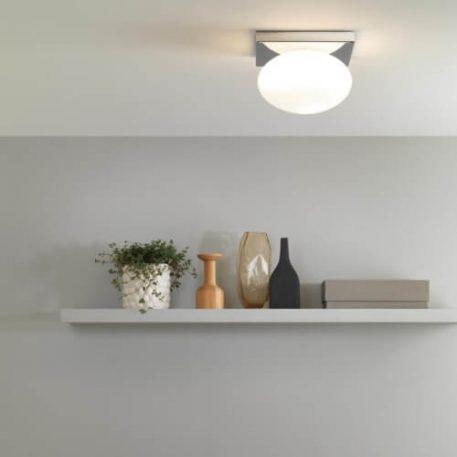 Castiro Lampa sufitowa – Styl nowoczesny – kolor biały, srebrny