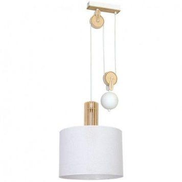 Castro  Lampa wisząca – Styl skandynawski – kolor biały