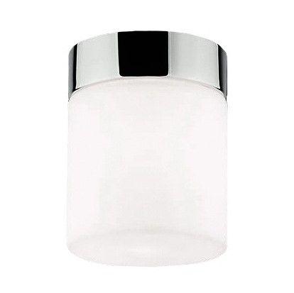 Cayo Lampa sufitowa – szklane – kolor biały, srebrny