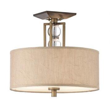 Celesial Lampa sufitowa – klasyczny – kolor beżowy, brązowy