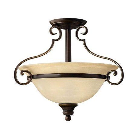 Celia Lampa sufitowa – klasyczny – kolor beżowy, brązowy