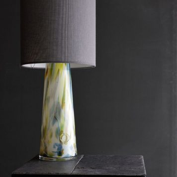 Cętki Lampa nowoczesna – Styl nowoczesny – kolor żółty, Niebieski, Szary, Zielony