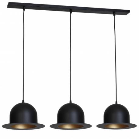 Charlie  Lampa wisząca – Styl nowoczesny – kolor Czarny