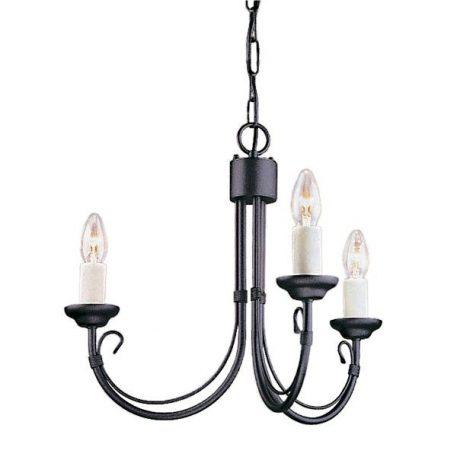 Chartwell Żyrandol – Świecznikowe – kolor Czarny