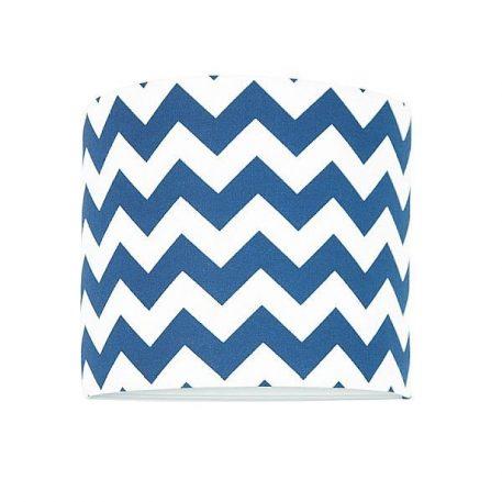 Chevron Lampa nowoczesna – Styl nowoczesny – kolor biały, Niebieski