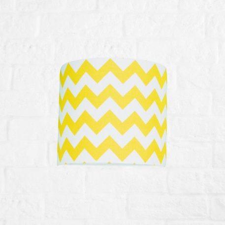 Chevron  Lampa nowoczesna – Styl nowoczesny – kolor biały, żółty