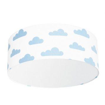 Chmurki Plafon – Styl nowoczesny – kolor biały, Niebieski