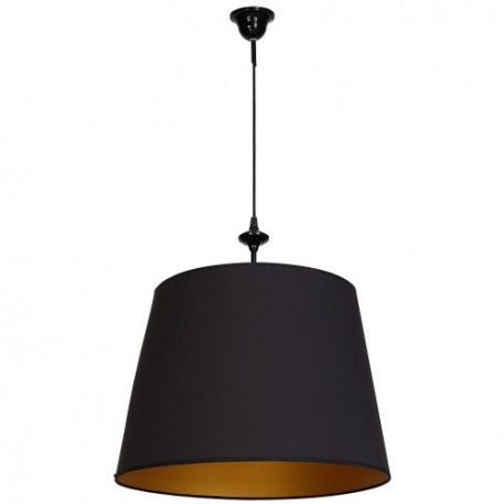 Chocco  Lampa wisząca – klasyczny – kolor Czarny