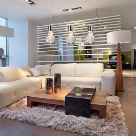Ciro Lampa wisząca – Styl nowoczesny – kolor srebrny, transparentny