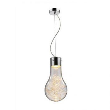 Ciro Lampa wisząca – szklane – kolor srebrny, transparentny