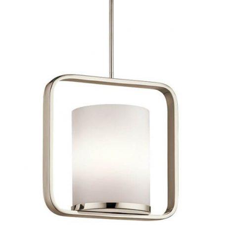 City Lights Lampa wisząca – Styl nowoczesny – kolor biały, srebrny
