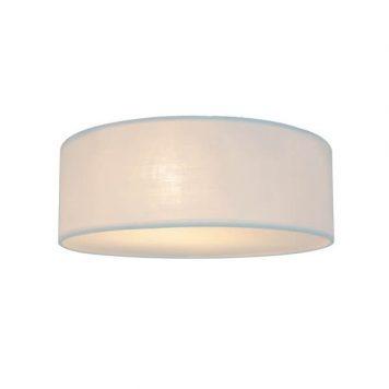 Clara  Lampa sufitowa – Z abażurem – kolor biały