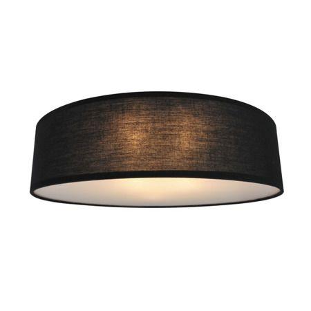 Clara  Lampa sufitowa – Z abażurem – kolor Czarny