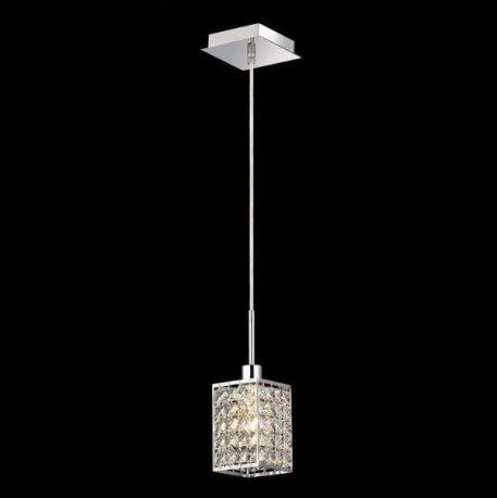Claris  Lampa wisząca – kryształowe – kolor srebrny, transparentny
