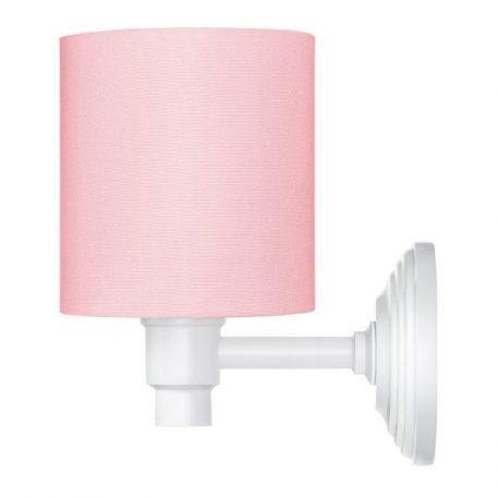 Classic Kinkiet – Z abażurem – kolor różowy
