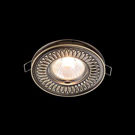 Classic Oczko/spot – Oczka sufitowe – kolor mosiądz, złoty