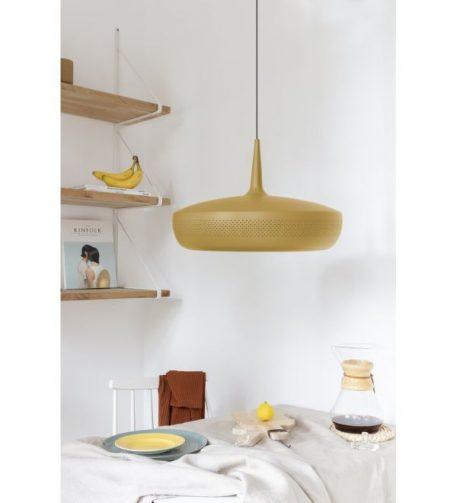 Clava Dine Ochre  Lampa wisząca – Styl skandynawski – kolor żółty
