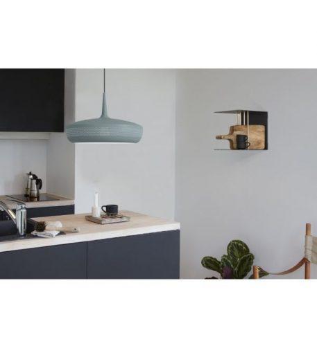 Clava Dine Slate  Lampa wisząca – Styl nowoczesny – kolor Niebieski, Szary