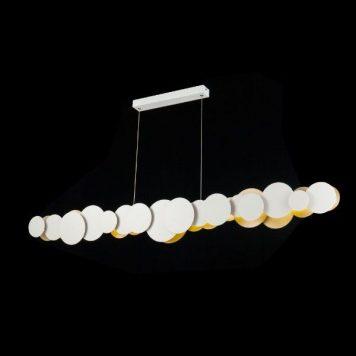 Cloud  Lampa wisząca – Lampy i oświetlenie LED – kolor biały złoty
