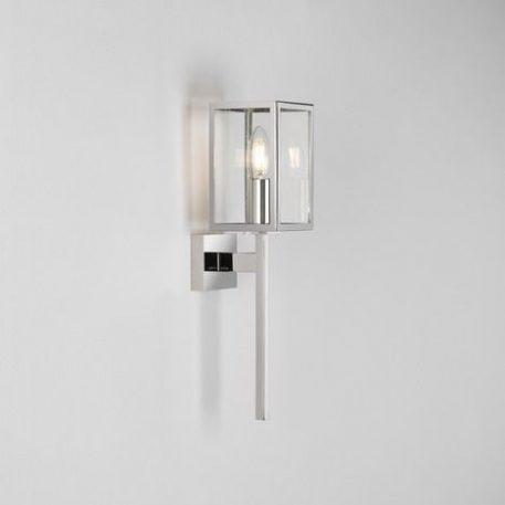 Coach 100 Lampa zewnętrzna – szklane – kolor srebrny, transparentny