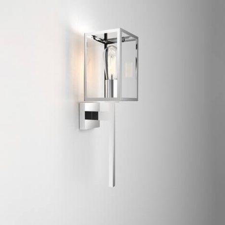 Coach Lampa industrialna – industrialny – kolor srebrny, transparentny