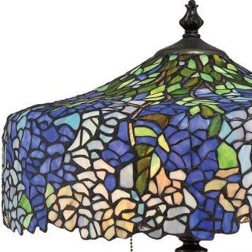 Cobalt Lampa klasyczna – klasyczny – kolor brązowy, Fioletowy, Niebieski