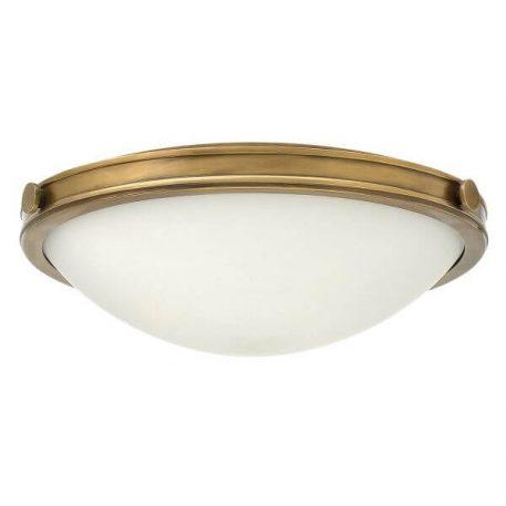 Collier Plafon – industrialny – kolor biały, mosiądz
