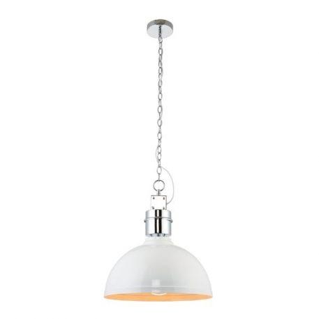 Collingham Lampa wisząca – Styl skandynawski – kolor biały