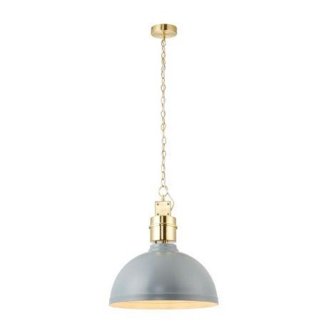Collingham Lampa wisząca – Styl skandynawski – kolor Szary