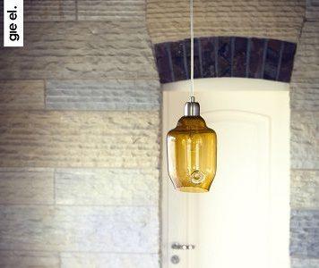 Color  Lampa wisząca – Styl nowoczesny – kolor żółty