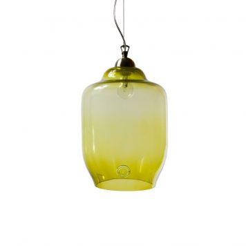 Color  Lampa wisząca – szklane – kolor Zielony