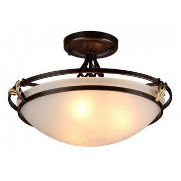 Combinare Lampa sufitowa – szklane – kolor biały, brązowy