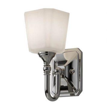 Concord Lampa klasyczna – szklane – kolor biały, srebrny